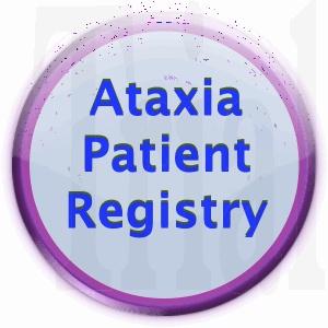 Ataxia Patient Registry Button