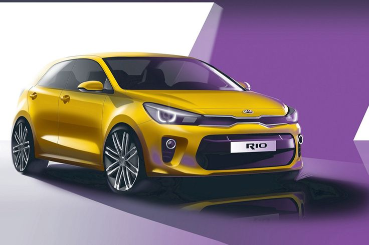 Nová generácia Kie Rio má plánovaný štart už 29. septembra. Automobilka zatiaľ predvádza línie na skicách. Tvary karosérie pripomínajú koncernový model Hyundai i20. V interiéri inšpiráciu poskytol Chevrolet Camaro.