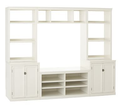 Pottery Barnu0027s Media Centers Combine Classic Style With Tech Friendly  Design. Find Media Center Furniture To Store And Display Every Type Of Media .