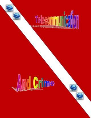VTelecom presents telecommunication and crime for increase information about broadband and telecommunication crime... Visit us:-- https://www.vtelecom.com.au/adsl2/business-broadband.html