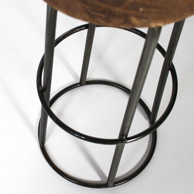 tabouret de bar industriel tronc d 39 arbre labo pinterest bar and originals. Black Bedroom Furniture Sets. Home Design Ideas