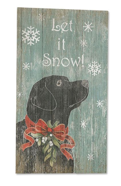 Just found this Home Decor - Let it Snow! Sign -- Orvis on Orvis.com!