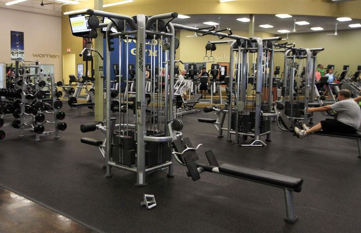 A room full of weight-training equipment awaits members at Gold's Gym in Shelby Crossing in Sebring. Description from tbo.com. I searched for this on bing.com/images