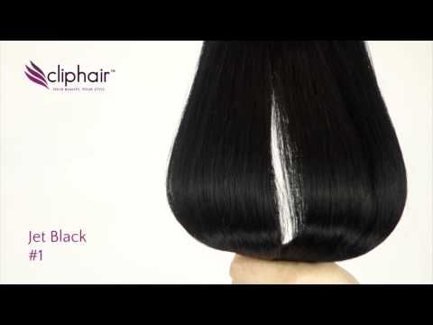 || Colour #1 Jet Black || by Cliphair.co.uk Shop for this colour here >>> http://www.cliphair.co.uk/Jet-Black-Hair-Extensions-1/ 100% Human Hair | Free Worldwide Shipping. Need help for Colour Matching? click here: http://www.cliphair.co.uk/colour-matching-service.html #jetblack #jetblackhair #blackextensions