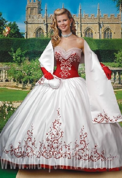 corset wedding dresses I would switch our the red for blue www.iwedplanner.com for wedding plans  look @iwedplanner