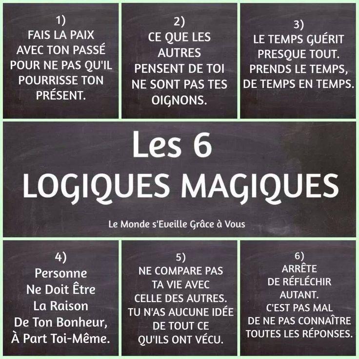 Les 6 logiques magiques pour vivre mieux ensemble au travail!