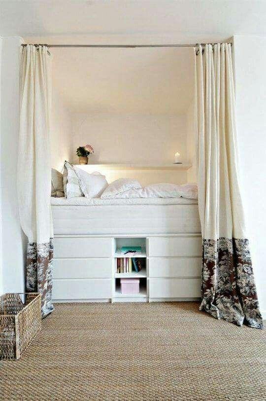 Tiny bedroom idea Zach