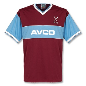 West Ham United football shirt 1983 - 1985 Added on 20/06/08, 12:27
