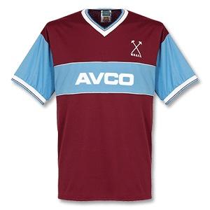 West Ham United football shirt 1983 - 1985 Added on 20/06/08, 12:27
