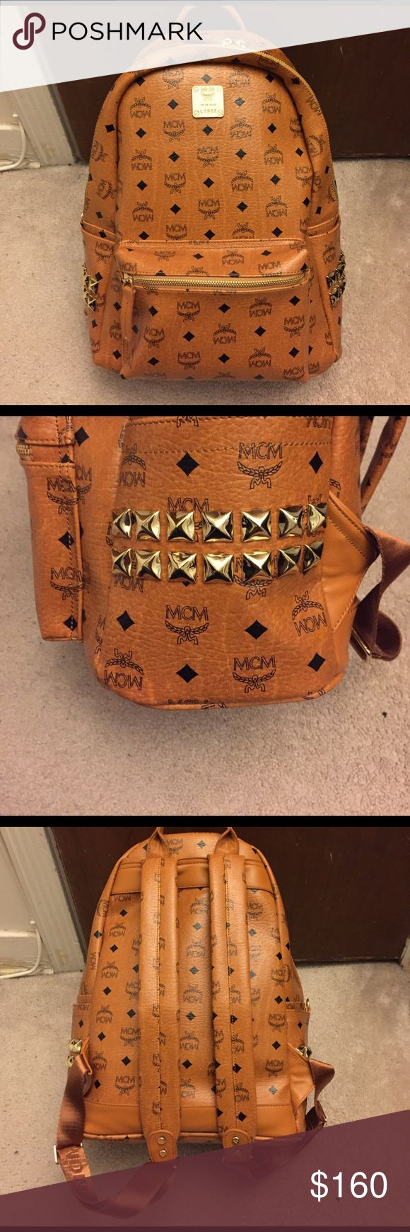 MCM Backpack Brand new. No wear or tear on the bag. Price reflects MCM Bags Backpacks