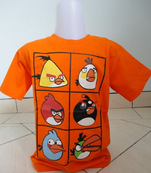 T-Shirt Angry Bird Orange IDR 50.000 Size S Untuk usia anak 1 tahun (postur tubuh agak besar) Untuk usia 2 – 3 tahun (postur tubuh kecil)  Ukuran Kaos: Panjang (atas – bawah) 46 cm Lebar (kiri – kanan) 37 cm Panjang lengan 16 cm  Email: jjbigstore@yahoo.com YM: jjbigstore Path: Silvblue Shop Instagram: @silvblue Line: silvblue Pin BB: 7E6975D4 SMS: 0818 0832 9022 WhatsApp 0896-2860-9094 Website: http://www.silvblue.com/ Blog: http://www.jjbigstore.wordpress.com/