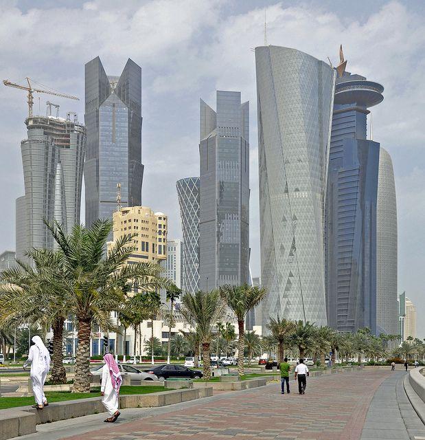 Doha Downtown (West Bay), Qatar | Flickr - Photo Sharing!