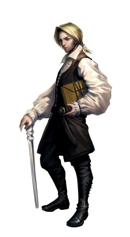 human young male aristocrat investigator pathfinder