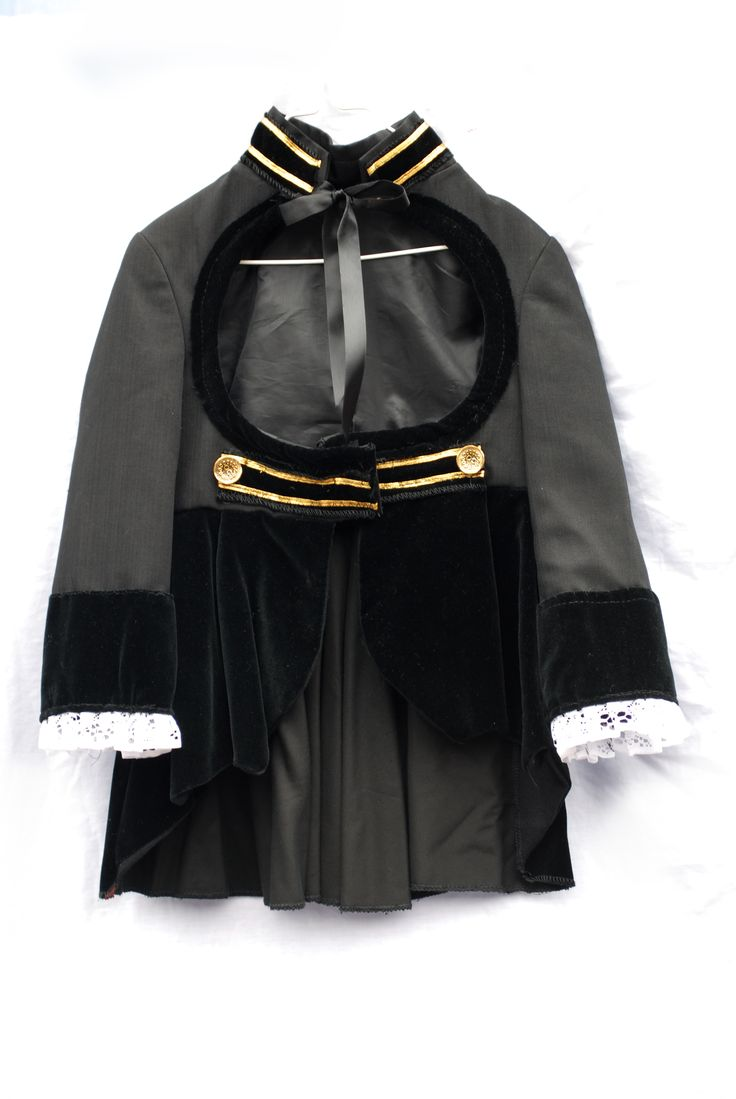 Black Pirate Frock  Childrens Pirate Costumes  Black Beard Pirate Girls  Authentic Pirate Costumes