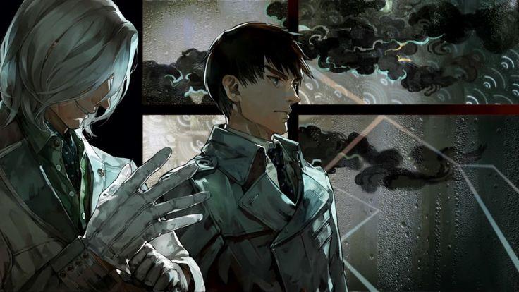 Tokyo Ghoul аниме anime токийский гуль момент из аниме тока канеки гуль гули хинами голуби сакура   part-of-anime.tumblr.com