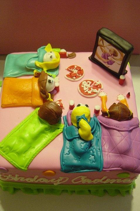 Slumber Party Cake Images : Slumber party cake. Stuff I Made Pinterest Party ...
