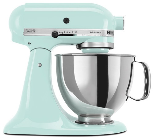KitchenAid Ice Artisan Series 5-quart Stand Mixer - contemporary - blenders and food processors - - by Overstock