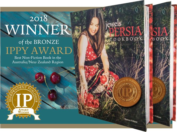 We are very excited to share the latest international recognition of our book Jewels of Persia with you today.    Jewels of Persia has been honoured with a bronze medal in the 2018 Independent Publisher Book Awards (IPPY) for the Australia/New Zealand region in the Non-Fiction category.    For those of you who have not yet heard about our book, visit https://www.amazon.com/Jewels-Persia-Exotic-di…/…/0995407908 and click on LOOK INSIDE!IPPY