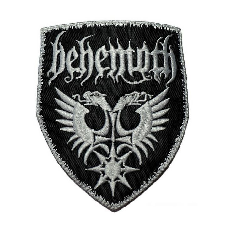 BEHEMOTH PATCH - Heavy Metal Patches - Extreme Metal Patches: Iron On, Handmade, Patches, Jacket, Metal, Boyfriend,, Christmas Gifts by VinylLoversUnite on Etsy