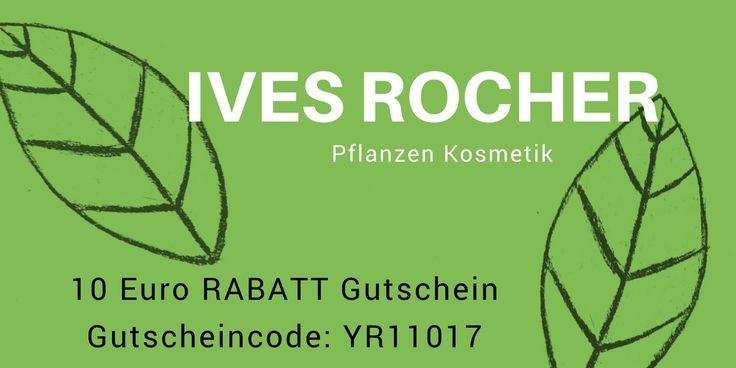 Rabatt Gutschein Yves Rocher mit Code YR11017. Hochwertige Naturkosmetik zum Bestpreis