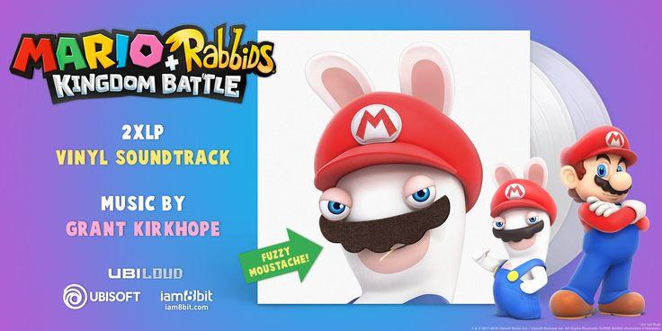 Mario + Rabbids Kingdom Battle 2xLP Vinyl Soundtrack