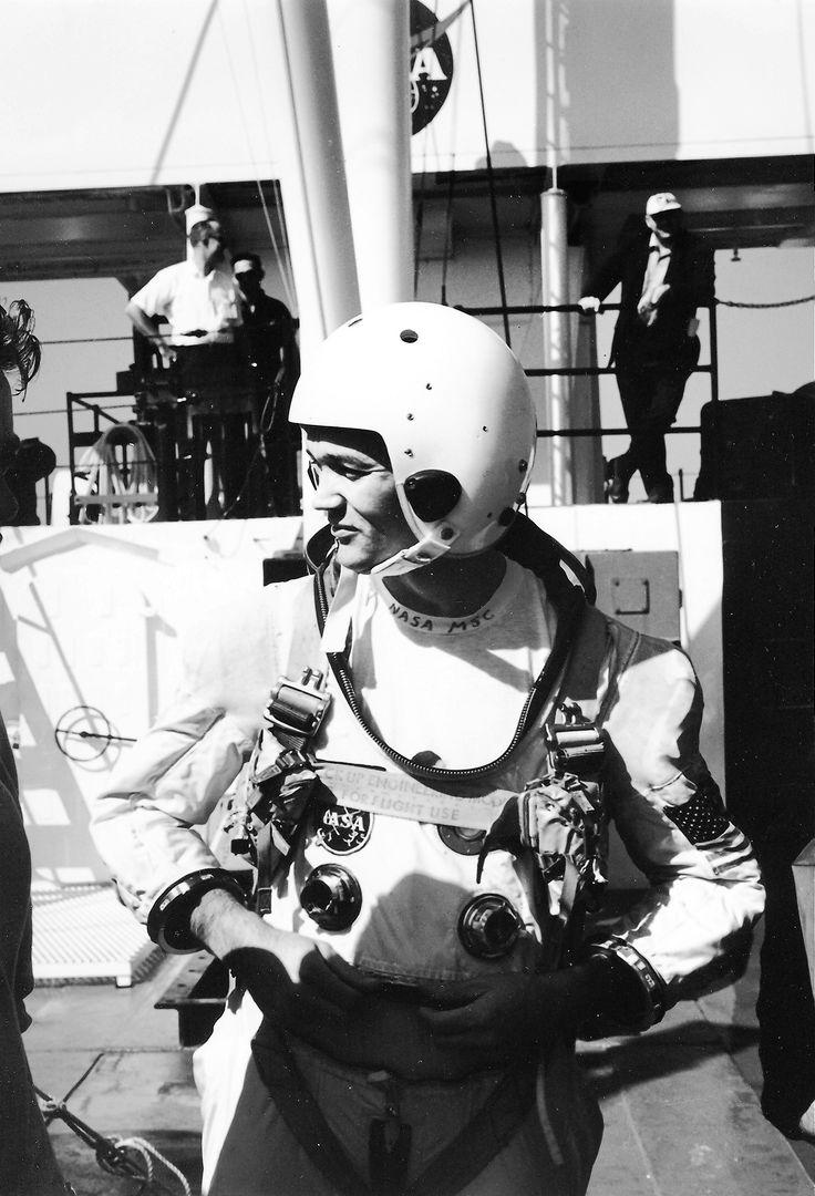 ALDRIN, BUZZ - GEMINI IX Buzz Aldrin during Gemini IX