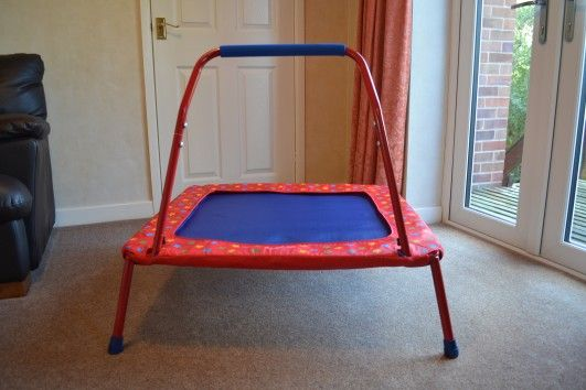 Galt Toys Children's Trampoline Review | Birds and Lilies Blog.  #review #Christmas #toddlergiftideas