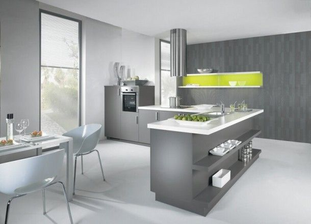 Best Kitchens Complete Images On Pinterest Kitchens Kitchen - Grey kitchen colour schemes