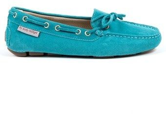 Andrew Charles by Andy Hilfiger Andrew Charles Womens Loafer Light Blue Camilla.