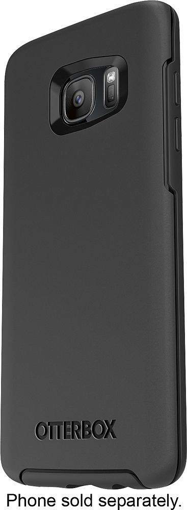 Otterbox - Symmetry Series Case for Samsung Galaxy S7 edge Cell Phones - Black