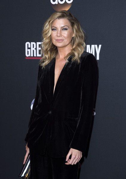 Actress Ellen Pompeo attends the 300th 'Grey's Anatomy' Episode Celebration.