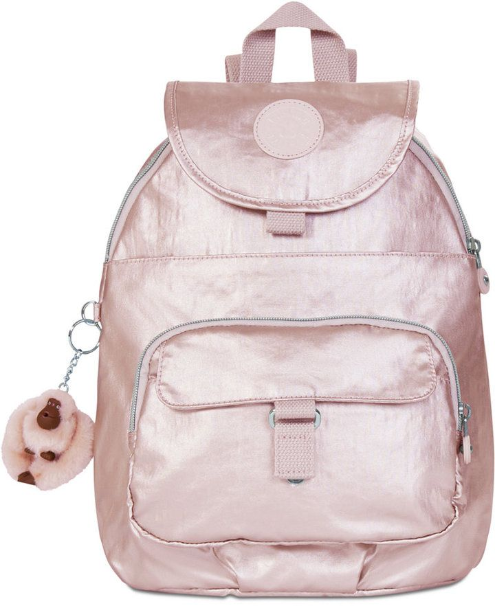 f301bc1974a2 $62.40 | Kipling Queenie Small Backpack | Rose Gold Heaven | Clothes ...