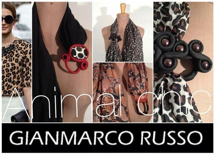 Gianmarco Russo - Stole e Foulards gioiello -