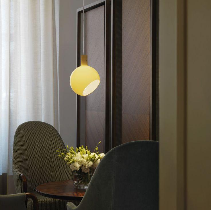 Suspension Lamp Parola by Gae Aulenti, Piero Castiglioni (1980) for FontanaArte