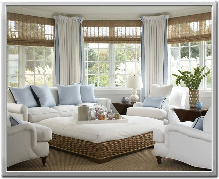 The 25+ Best Sunroom Window Treatments Ideas On Pinterest | Sunroom  Curtains, Curtains For Long Windows And Bay Window Treatments Part 64