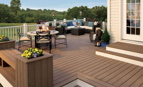 the beautiful deck of house - Google Search