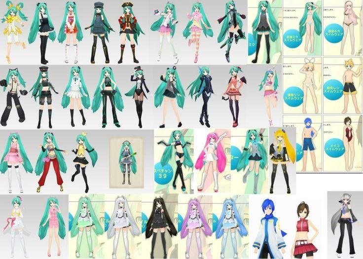 hatsune miku wallpaper outfits - photo #23