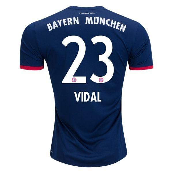 adidas Vidal Bayern Munich Away Jersey 17/18