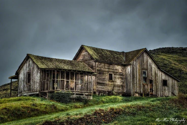 Abandoned Historic Froom Ranch House San Luis Obispo