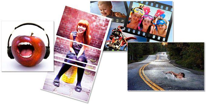 Realizar fotomontajes uniendo dos o varias fotografías... todos tus amigos se sorprenderán con este famoso efecto