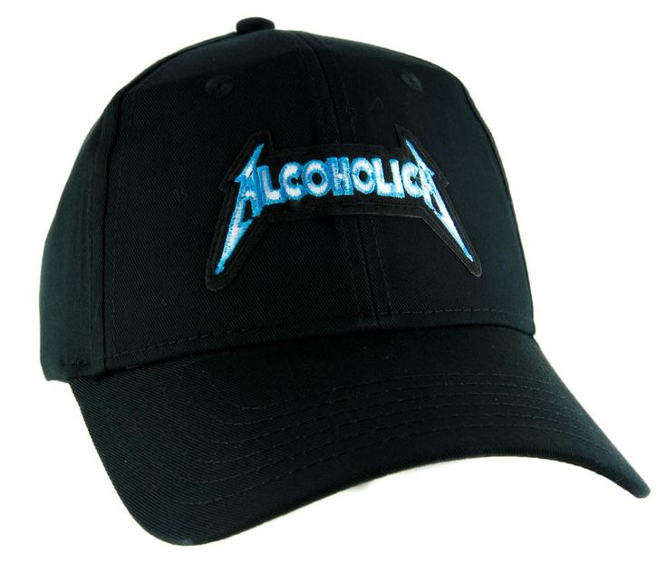 Alcoholica Metallica Spoof Hat Baseball Cap Alternative Clothing Heavy Metal Music  #rock #oi #blackmetal #instagoth #alternative #heavymetal #rivethead #gothicrock #psychobilly #gothicclothing