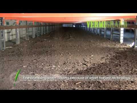 The advanced vermicomposting facility VERMIC 3.2 - worm composting