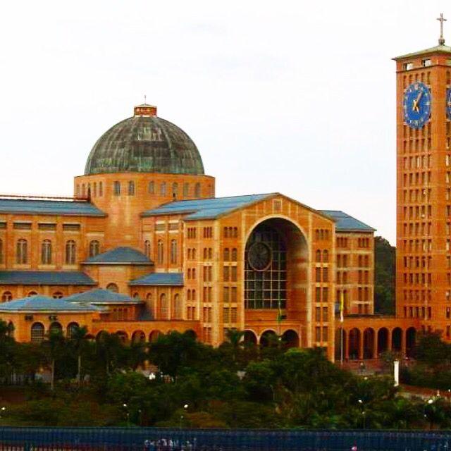 Basílica Nuestra Señora de Aparecida. Río Preto, Aparecida, Sao Paulo, Brasil