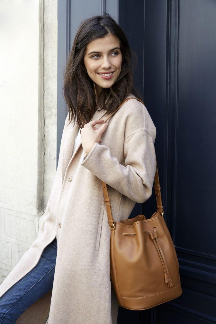 Numéro Quatre - Édition Monochrome Camel - 250€ www.polene-paris.com #handbag #fashionstyle #newbrand #parisianstyle #bagaddict #fashionista