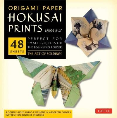 Origami Paper Hokusai Prints - 8 1/4: Perfect for Small Projects or the Beginning Folder