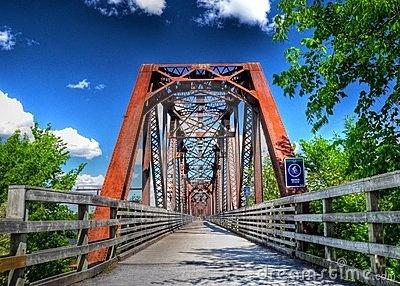 Walking bridge - Fredericton, NB