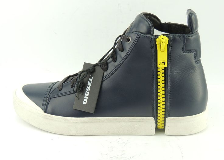 Diesel S-Nentish Herren Sneaker Schuhe Boots Chucks Leder Shoe Gr. 43 UK 9 Neu   eBay