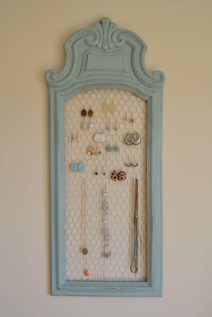 Hanging Necklace Organizer 28 Best Jewlrey Organization Images On Pinterest Jewellery