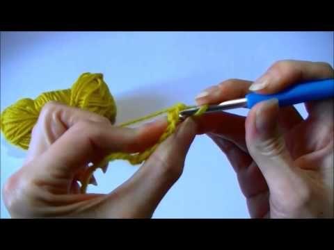 Leer hoe je een haakwerk kunt starten zonder eerst een ketting van lossen te haken. (Foundation crochet)