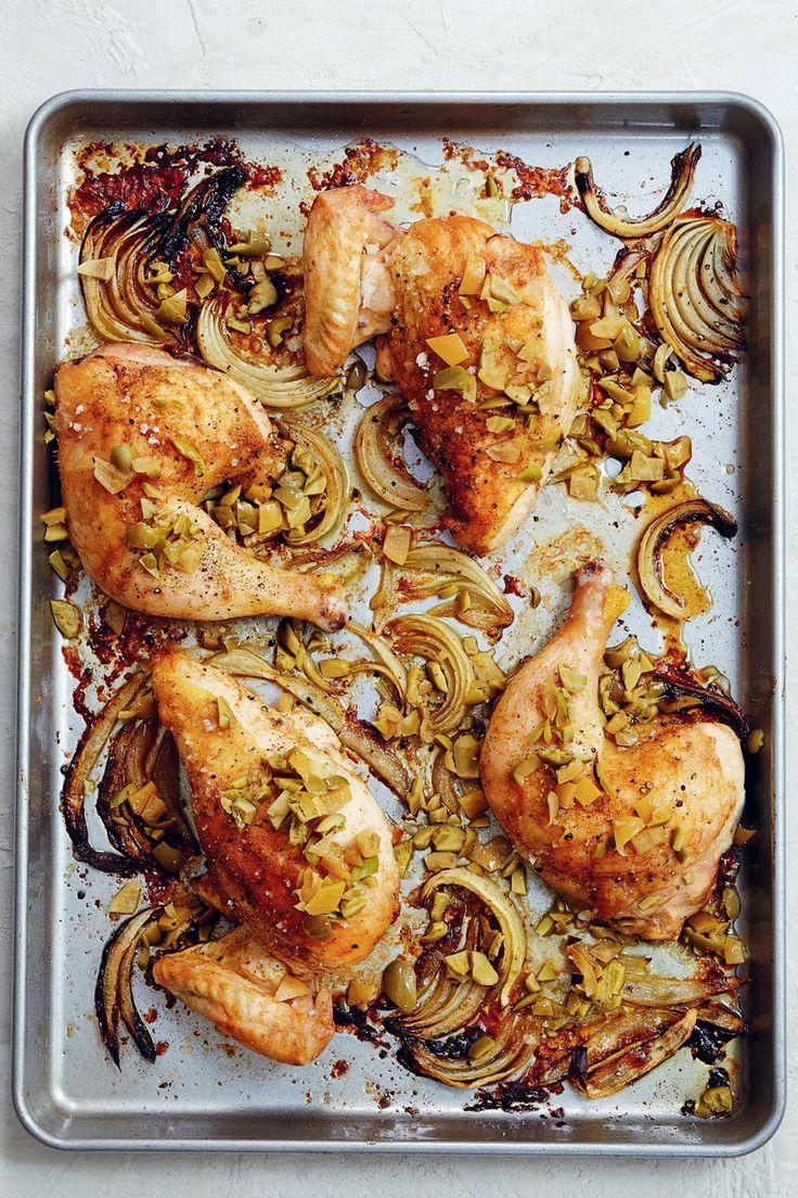 One-Pan Moroccan Chicken Recipe - Viva
